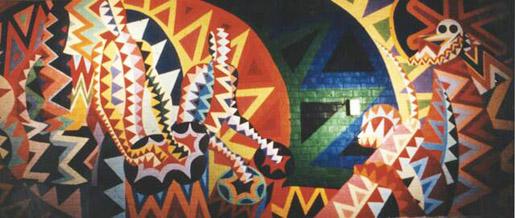 The burgess fine arts collection james phillips for Duke ellington mural